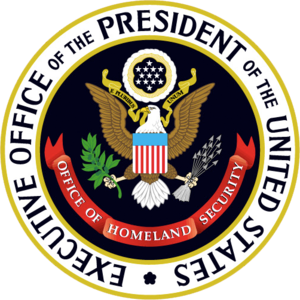 Seal of the White House Office of Homeland Sec...