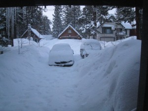 California Snow - March 2011