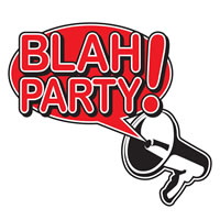 Blah! Party logo
