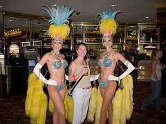 showgirls in the Tropicana