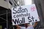 NEW YORK, NY - SEPTEMBER 26: A demonstrator ho...