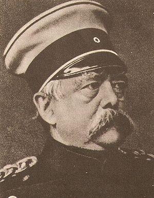 Deutsch: English: Otto Von Bismarck, Chancello...