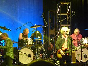 Moot the Hoople reunion gig, 2009.