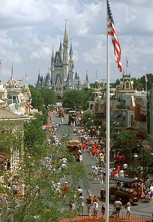 Main Street at the Magic Kingdom, Walt Disney ...