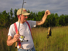 Sunday Afternoon Pond Fishing