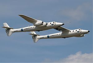Virgin Galactic Scaled Composites 348 White Kn...