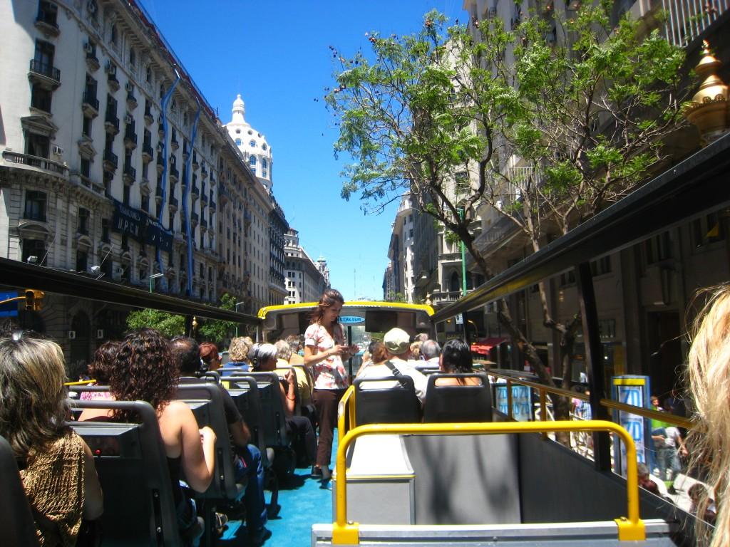 BA Tour Bus