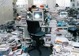 My filing system.
