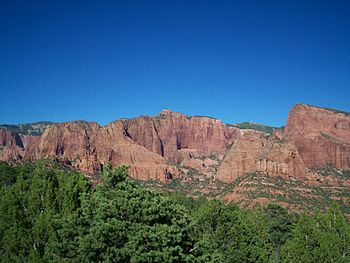 Kolob Finger Canyons, Zion National Park.